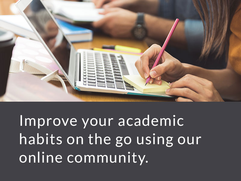 Request information about online study skills services